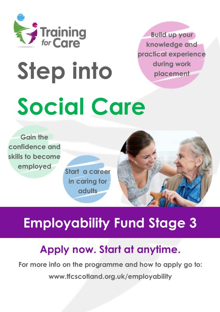 EF3 step into social care - oct18